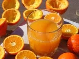 verse sinaasappelsap